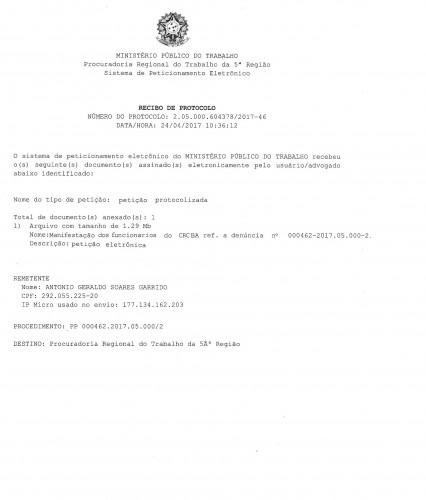 Protocolo 2.05.000.604378.2017.46