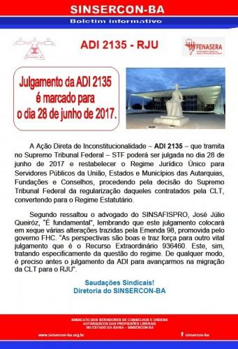 Julgamento da ADI 2135