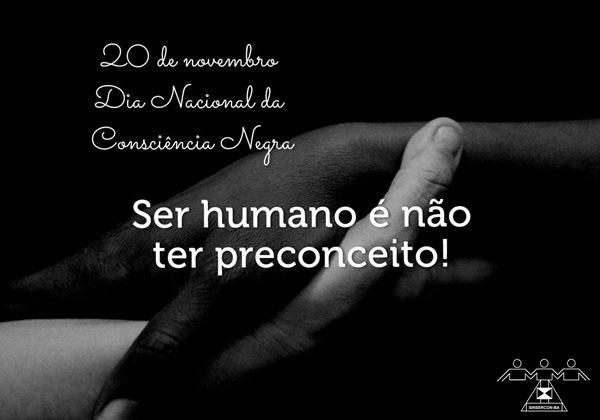 20 de novembro-Dia Nacional da Consciência Negra