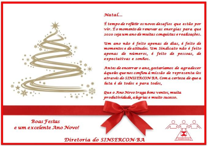 Cartão de natal para publicação